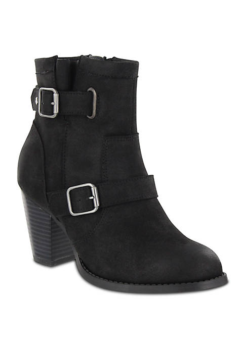 MIA Amore Elana Buckle Ankle Boot