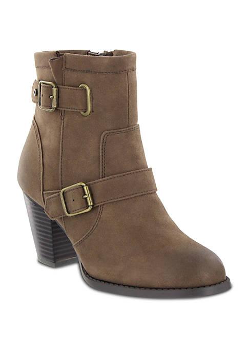 Elana Buckle Ankle Boot