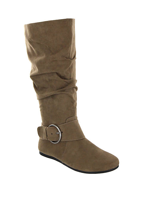MIA Amore Celsa Circle Buckle Midcalf Boot