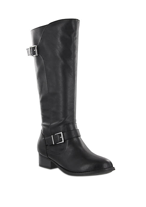 MIA Amore Lola Buckle Knee High Boot
