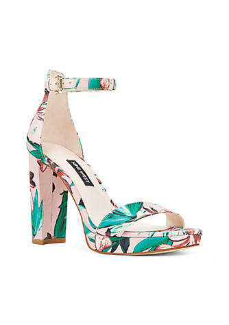 the cheapest nice shoes On Clearance Nine West Dempsey Platform Sandal