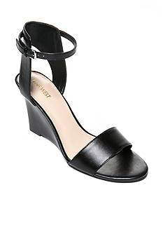 Nine West Madness Ankle Strap Wedge Sandal - Available in Extended Sizes