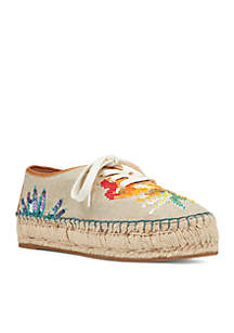 Guinup Lace Up Espadrille