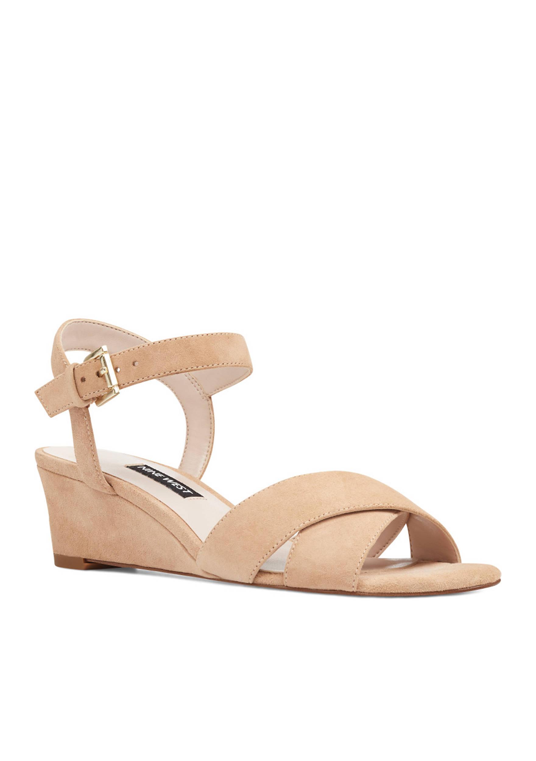 Nine West Glade Wedge Sandals stHnnHfTs