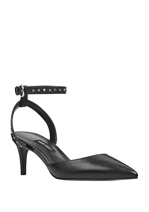 Susaham Ankle Strap Heel