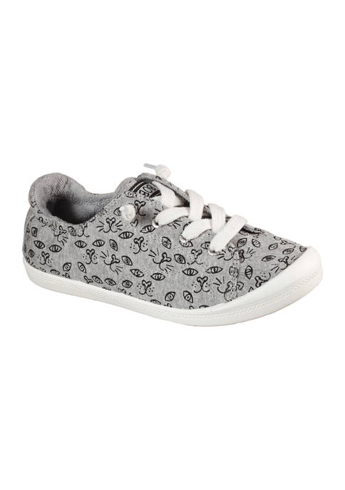 BOBS from Skechers Womens Beach Bingo Van Gato