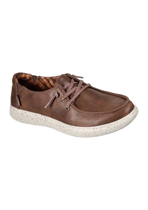 BOBS from Skechers Skipper Sandbar Social Oxford Loafers