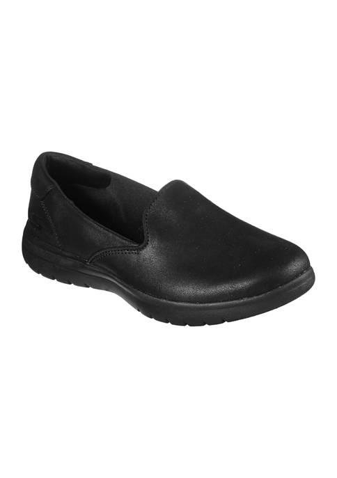 BOBS from Skechers Womens Go Walk Queenly Sneakers