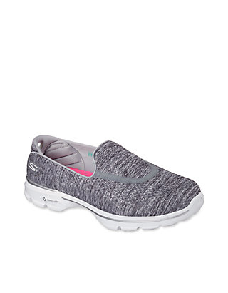 NEU SKECHERS Damen Fitness Sneakers Turnschuh Walking GO WALK 3 FITKNIT Blau