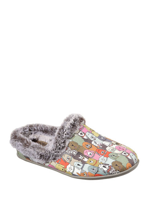 BOBS from Skechers Beach Bonfire Cuddle Mutts Slippers