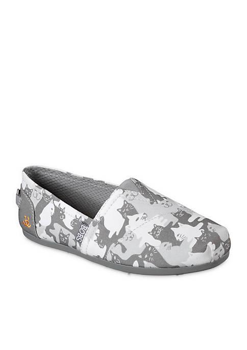 Plush Cat-Mouflage Shoes