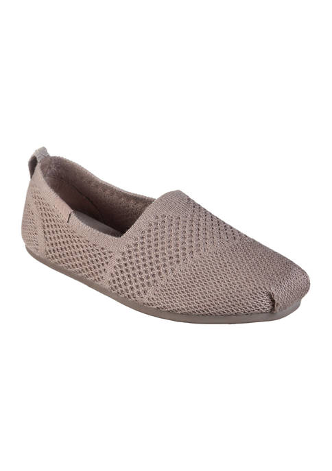 BOBS from Skechers Plush Autumn Leaf Flats