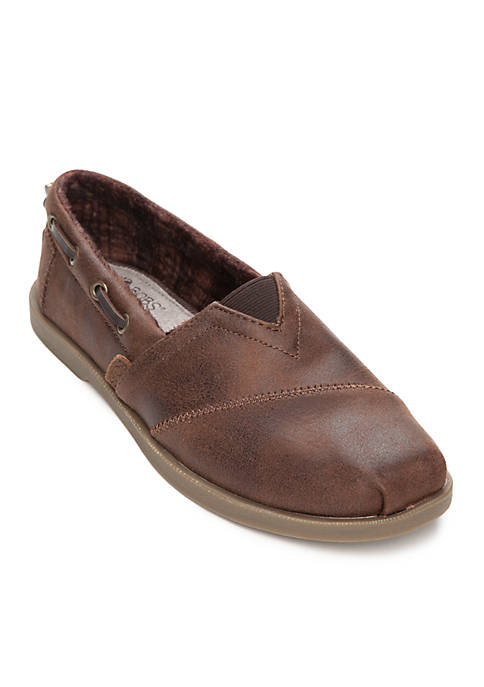 Skechers Bobs Chill Luxe Buttoned Up Shoe