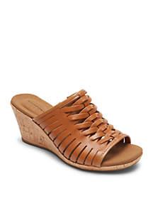 Briah Fisherman Slide Sandal - Available in Extended Sizes