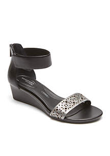 Total Motion Ankle Strap Sandal - Available in Extended Sizes