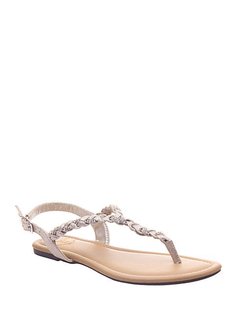 MADELINE Charge Flat Sandals