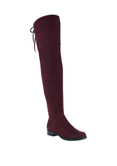 MADELINE Folk Tale Over the Knee Boots