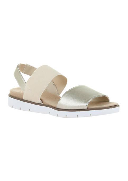 MADELINE Sentimental Slingback Flat Sandals
