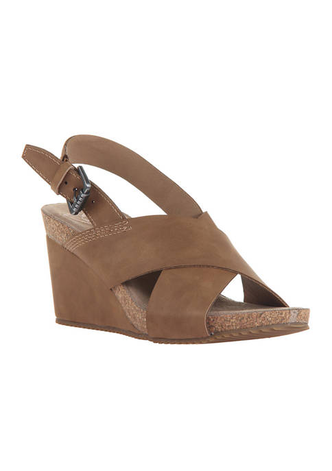 MADELINE Simile Wedge Sandals