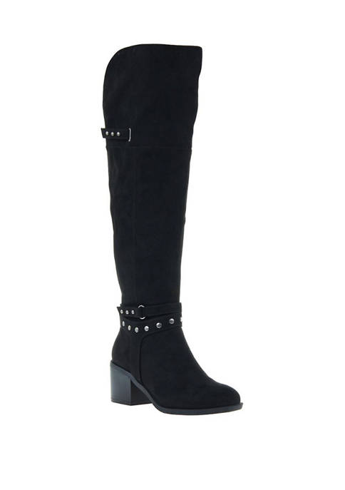 Sparkle Over the Knee Boots