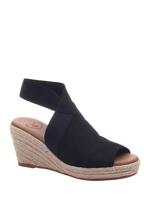 Sunny Day Wedge Espadrille Sandal