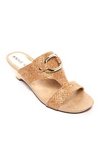Anne Klein Teela Promo Slide Sandal tHOsYfufIg