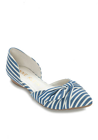 Anne Klein Bette Two-Piece Flats 7Blt4r