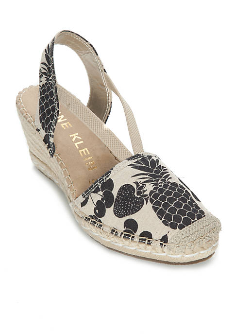 Anne Klein Abbey Espadrille Sandals