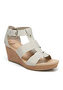 Barton Wedge Sandal