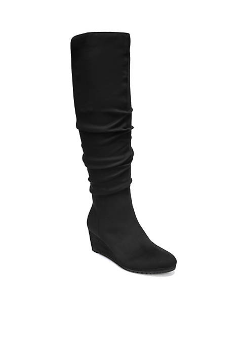 Central Ruched Boot