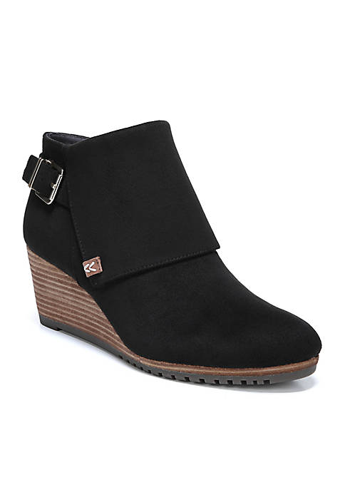 Create Stacked Wedge Bootie