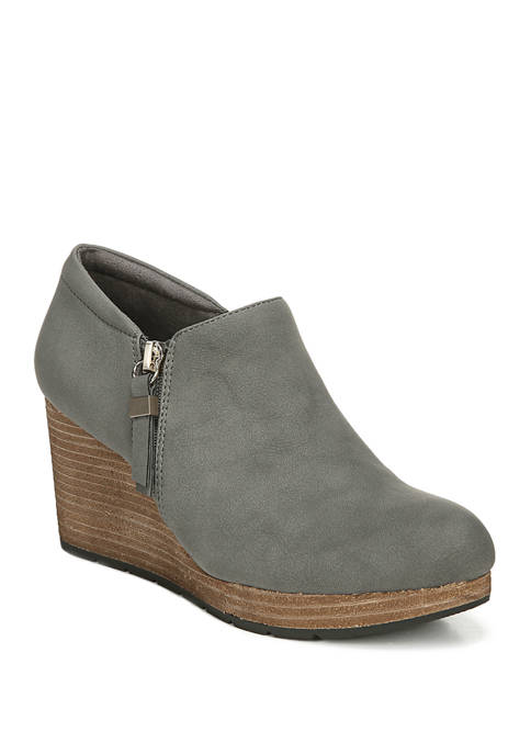 Work It Wedge Booties
