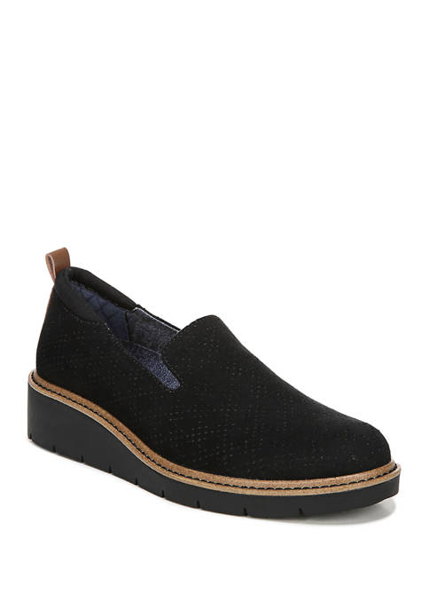 Sidekick Slip On Wedge Loafers
