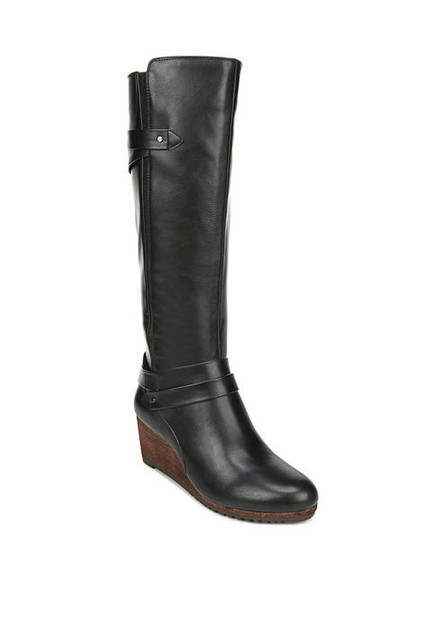 Dr. Scholl's® Check It Wide Calf Boots