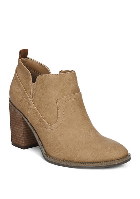 Lanie Block Heel Booties