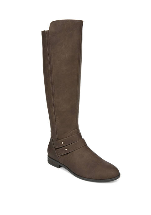 Reach For It Wide Calf Tall Boots
