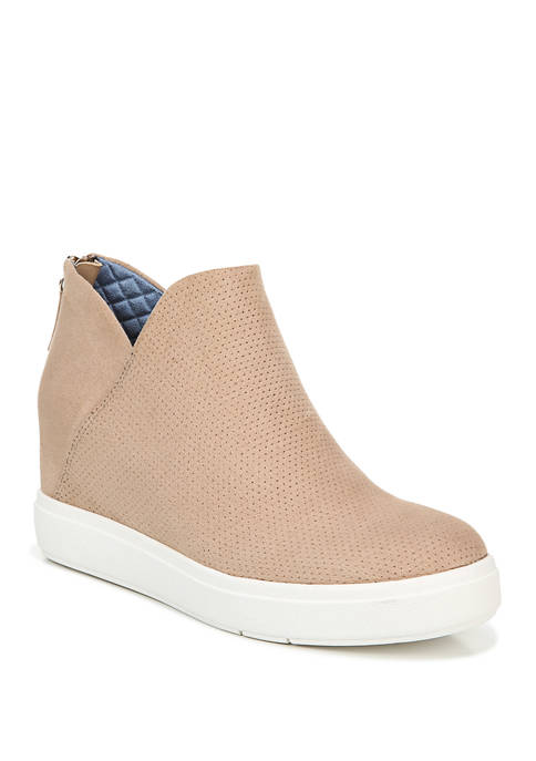 Dr. Scholl's® Madison Hi Wedge Sneaker Booties