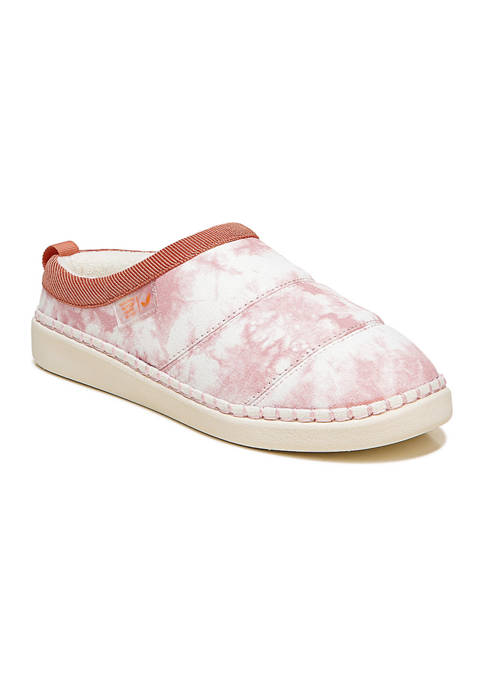 Dr. Scholl's® Cozy Vibes Slippers- Pink Tye Dye