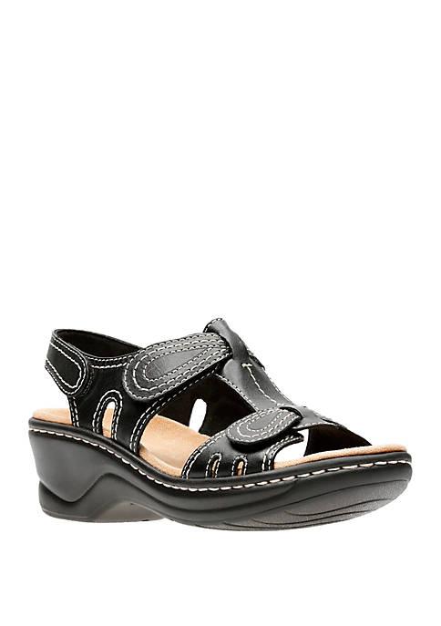 Clarks Lexi Walnut Sandals
