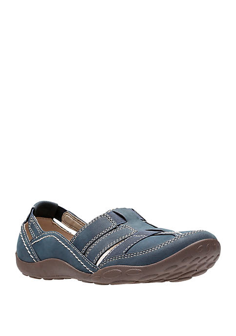 Clarks Haley Stork Slip On Casual Shoes