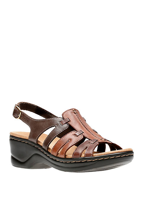 Clarks Lexi Marigold Multi Leather Sandals
