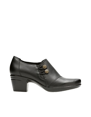 8494380b88e Clarks Emslie Warren Black Shoes