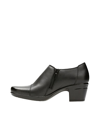 59e0dcd3d25 ... Clarks Emslie Warren Black Shoes ...
