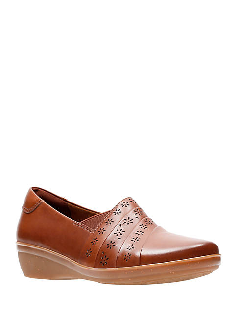 Clarks Everlay Uma Perforated Casual Shoes