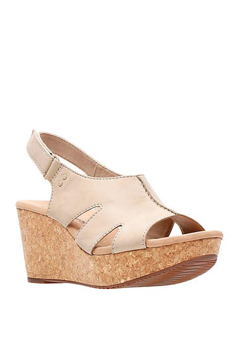 Clarks Annadel Bari Wedge Sandals