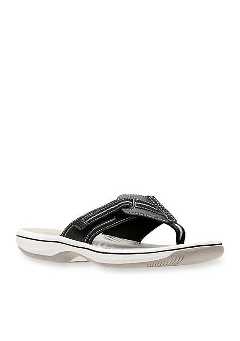 Clarks Brinkley Jazz K Black Sandal