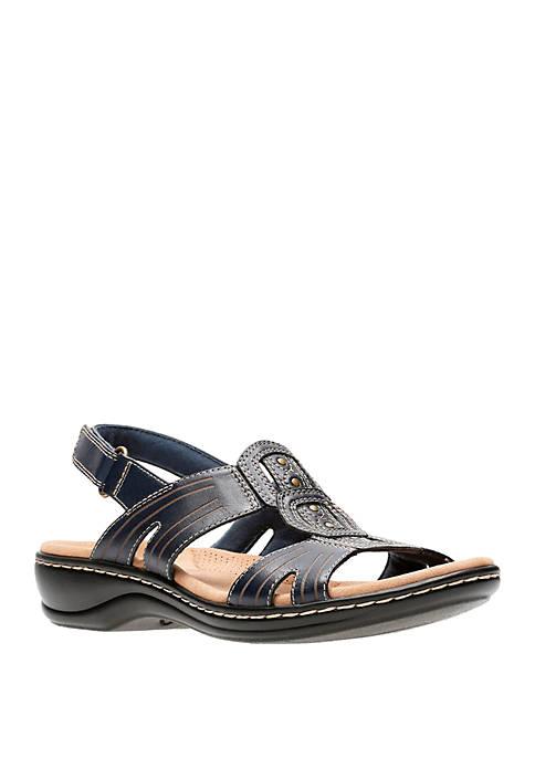 Clarks Leisa Vine T Strap Sandals