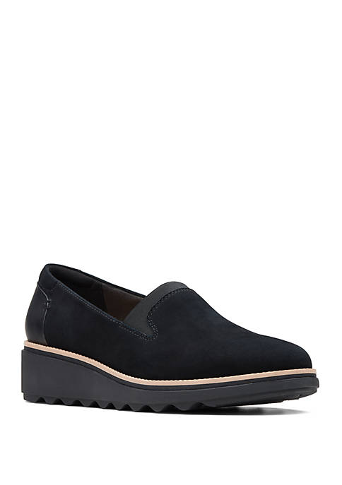 Clarks Sharon Dolly Platform Loafers