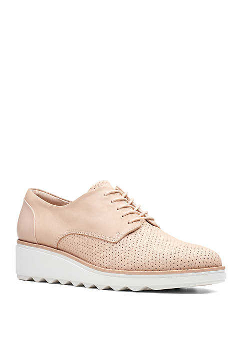 Clarks Sharon Crystal Casual Oxfords