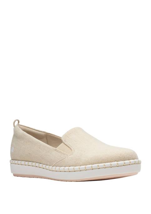 Clarks Step Glow Slip Sneakers